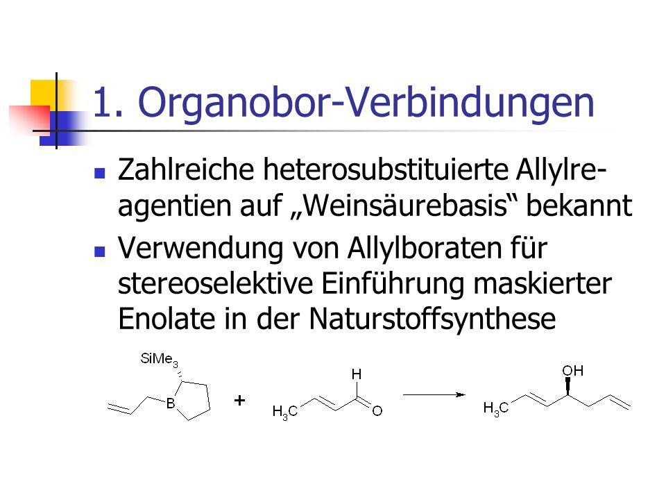 1. Organobor-Verbindungen