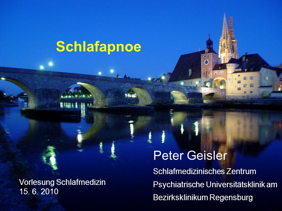 Schlafapnoe Peter Geisler Schlafmedizinisches Zentrum