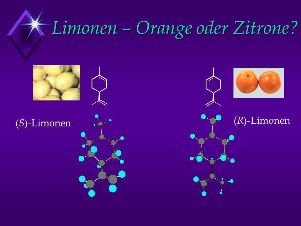 Limonen – Orange oder Zitrone