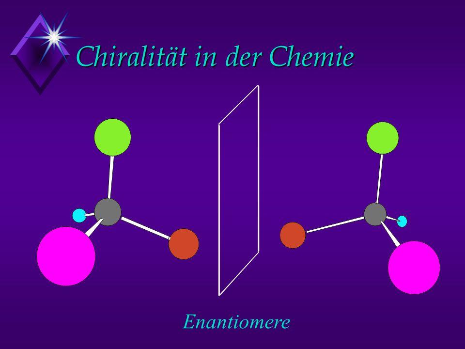 Chiralität in der Chemie