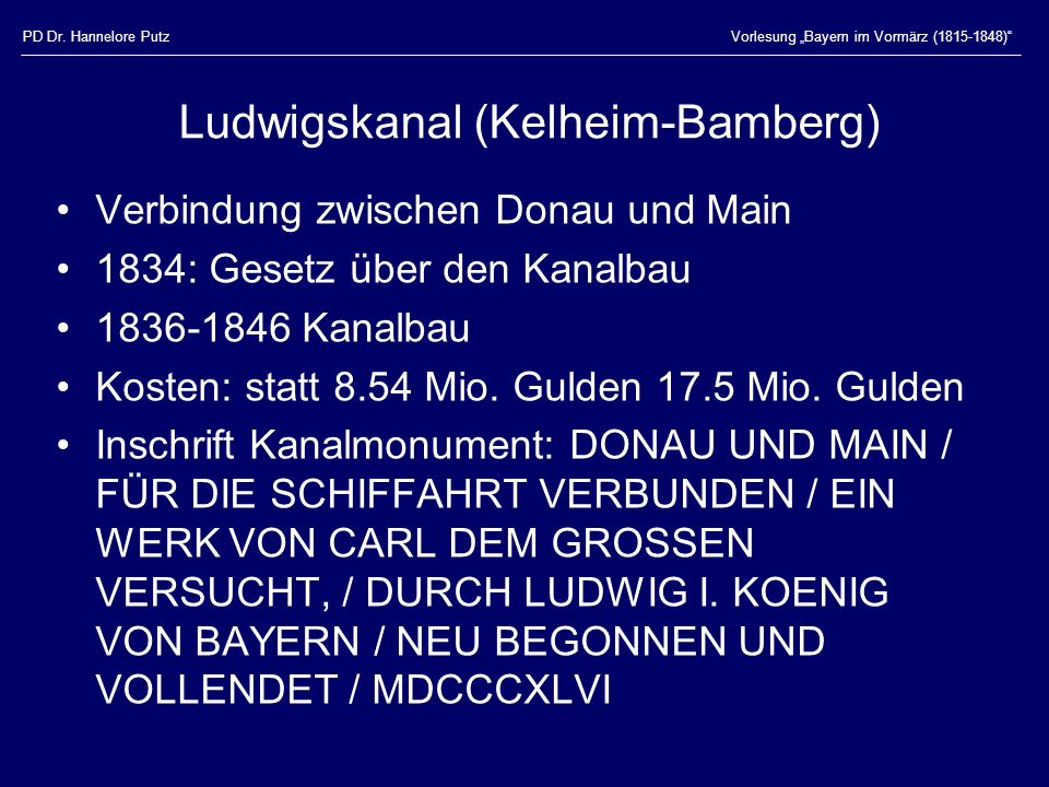 Ludwigskanal (Kelheim-Bamberg)