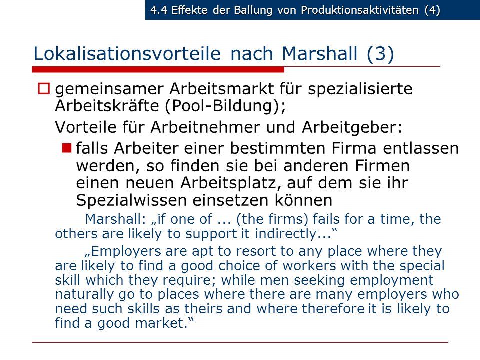 Lokalisationsvorteile nach Marshall (3)
