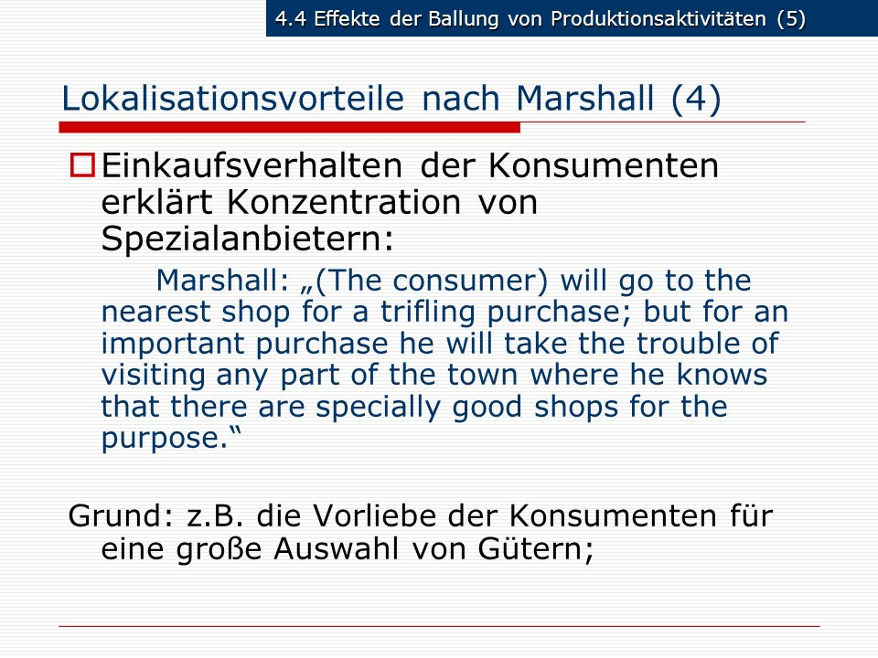 Lokalisationsvorteile nach Marshall (4)