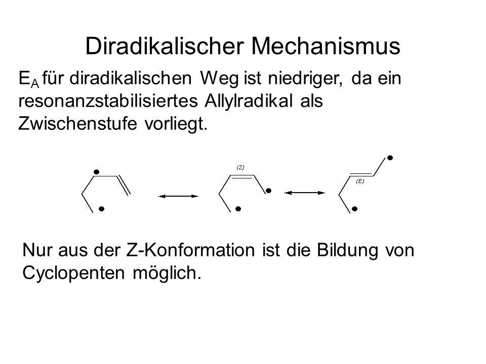 Diradikalischer Mechanismus
