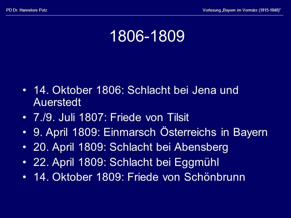 1806-1809 14. Oktober 1806: Schlacht bei Jena und Auerstedt