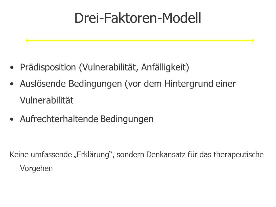 Drei-Faktoren-Modell