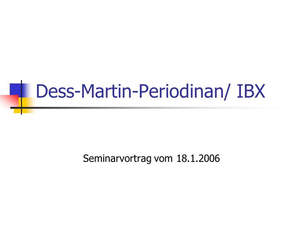 Dess-Martin-Periodinan/ IBX