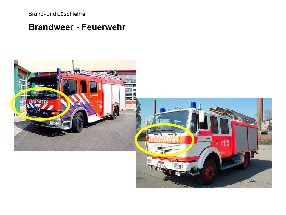 Brandweer - Feuerwehr