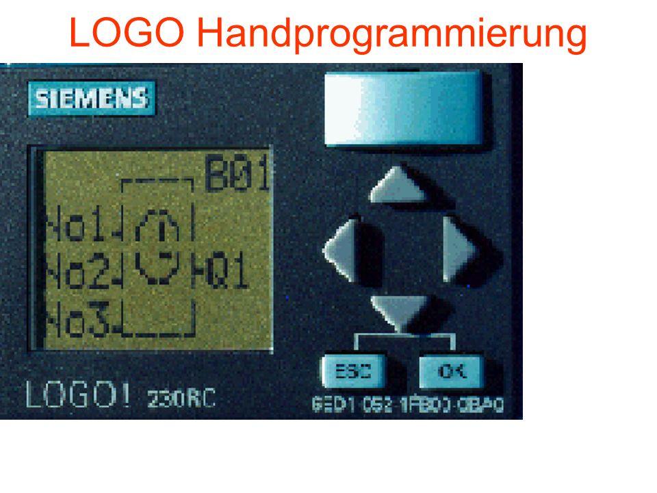 LOGO Handprogrammierung