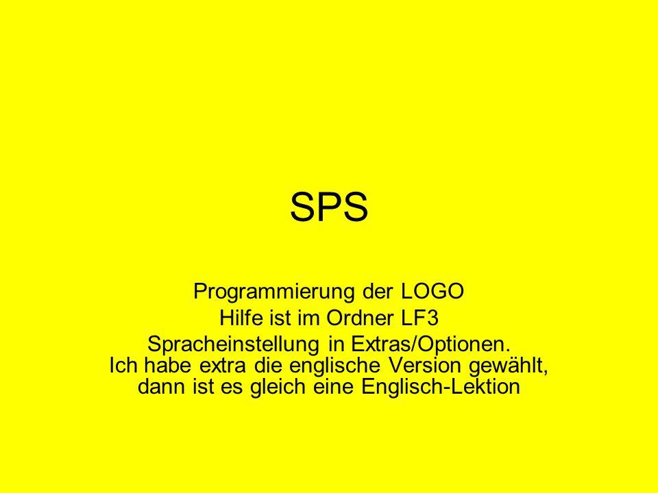 Programmierung der LOGO