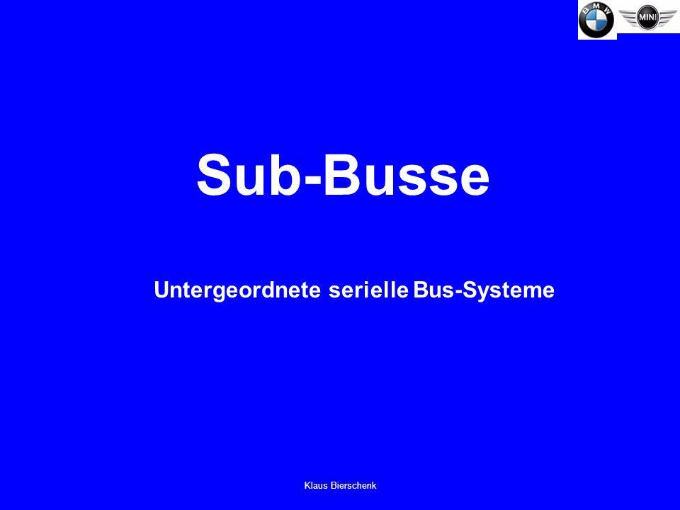 Untergeordnete serielle Bus-Systeme