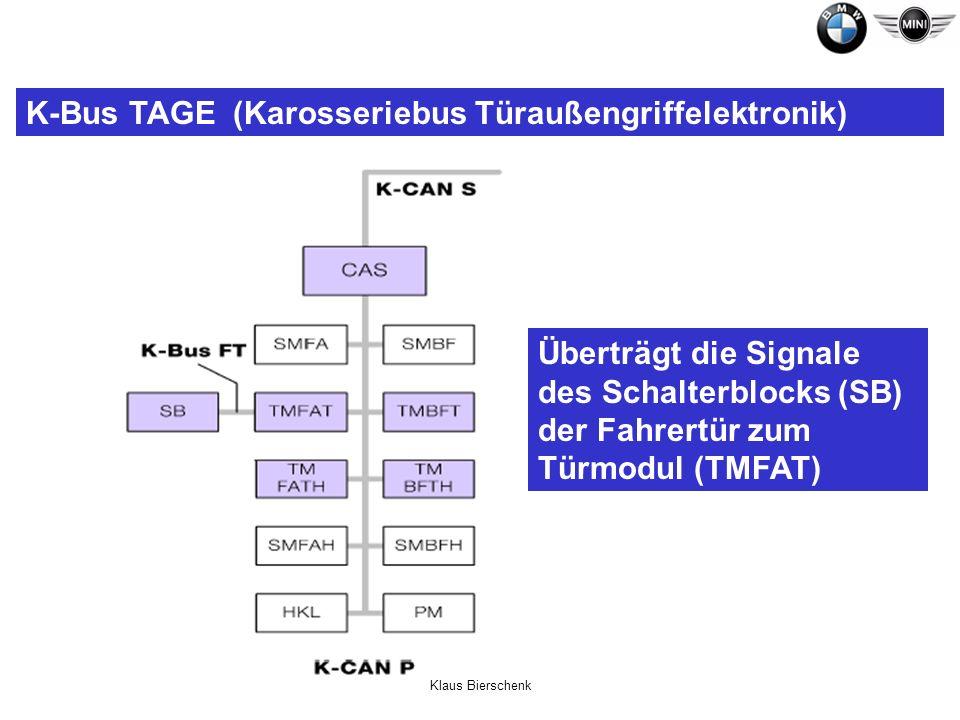 K-Bus TAGE (Karosseriebus Türaußengriffelektronik)