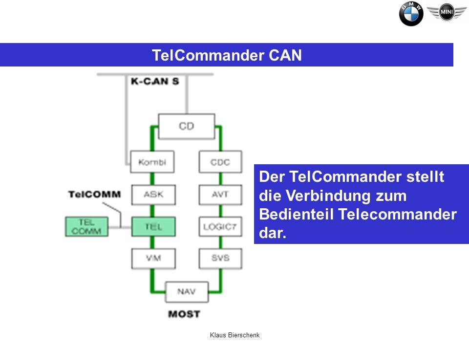 TelCommander CANDer TelCommander stellt die Verbindung zum Bedienteil Telecommander dar.