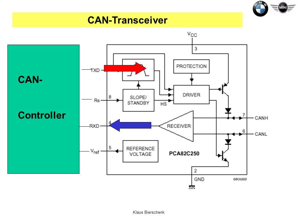 CAN-Transceiver CAN- Controller Klaus Bierschenk
