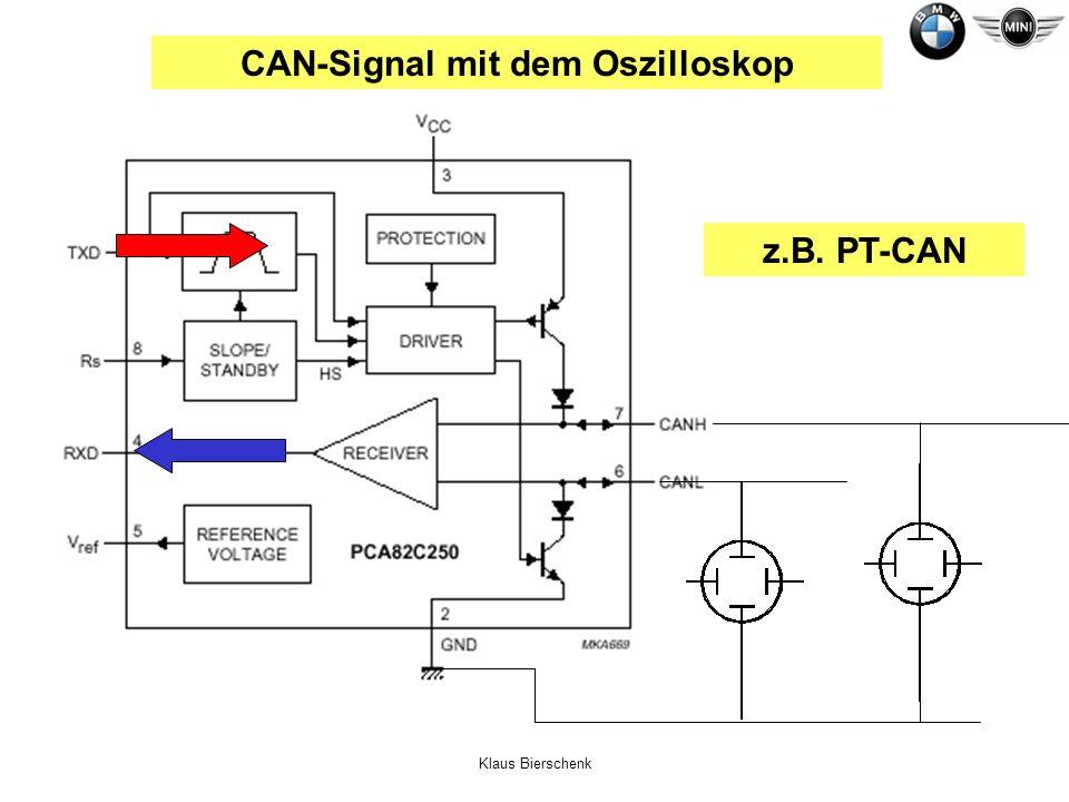 CAN-Signal mit dem Oszilloskop