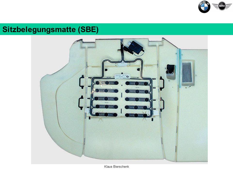 Sitzbelegungsmatte (SBE)
