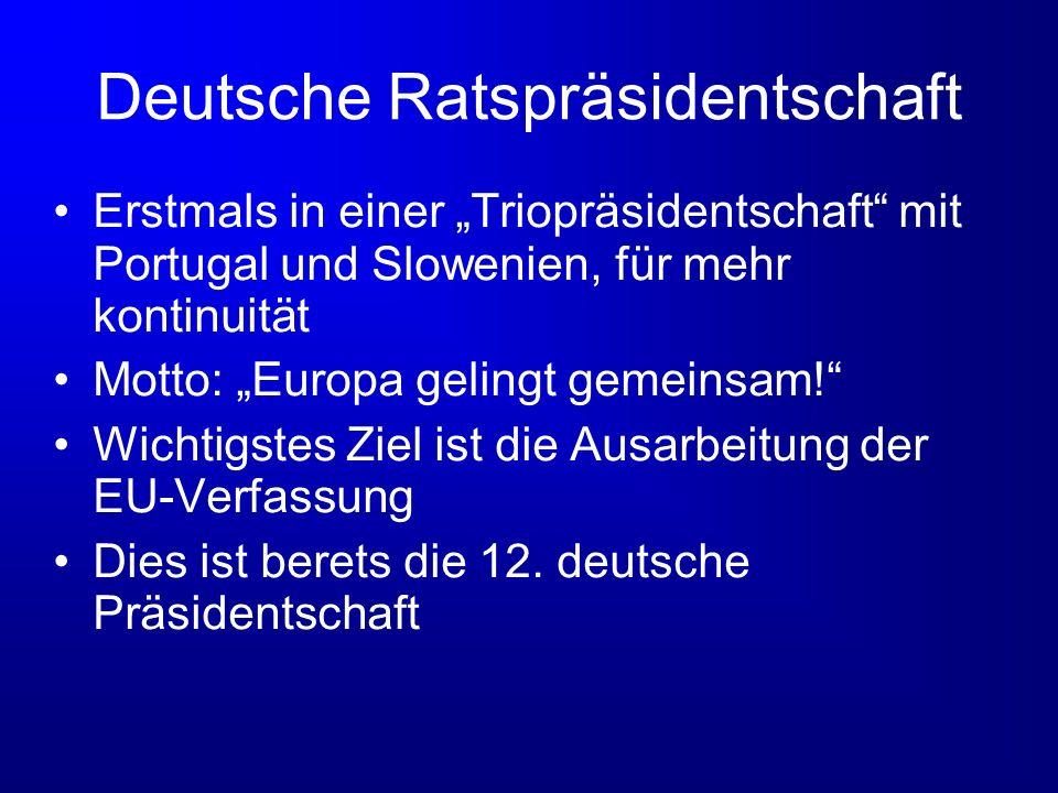 Deutsche Ratspräsidentschaft
