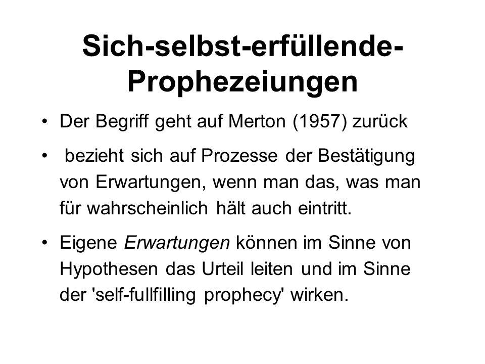 Sich-selbst-erfüllende-Prophezeiungen