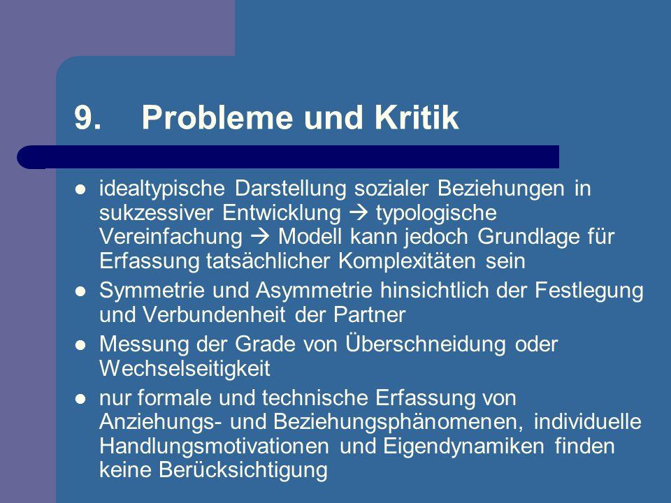 9. Probleme und Kritik