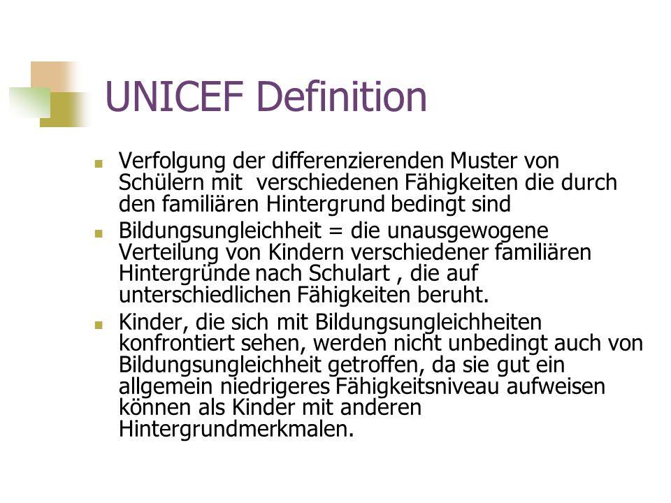 UNICEF Definition