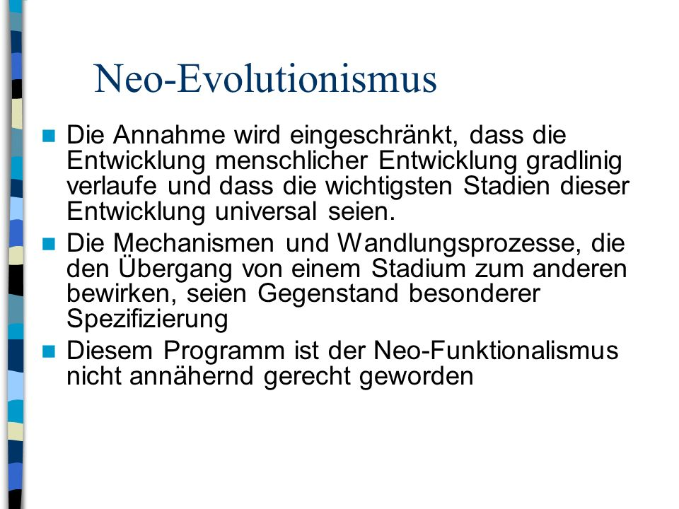 Neo-Evolutionismus