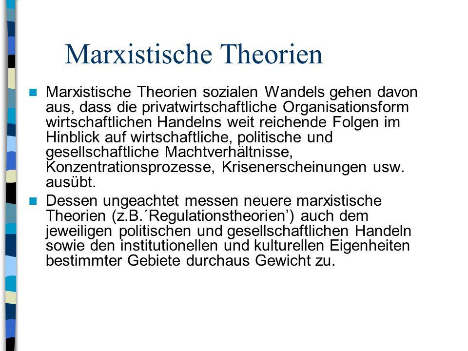 Marxistische Theorien