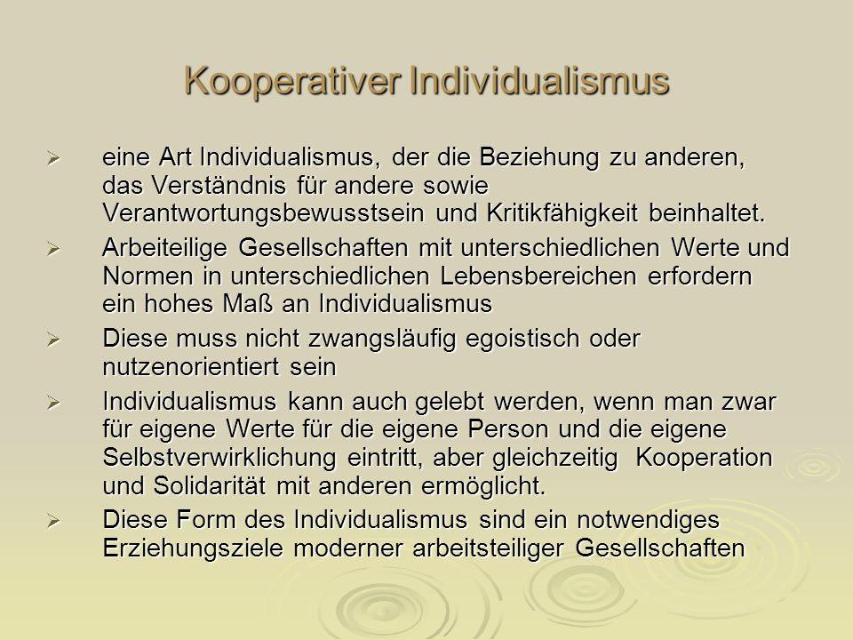 Kooperativer Individualismus