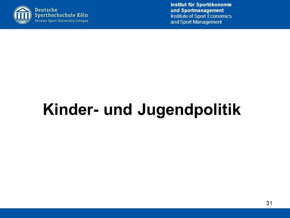 Kinder- und Jugendpolitik