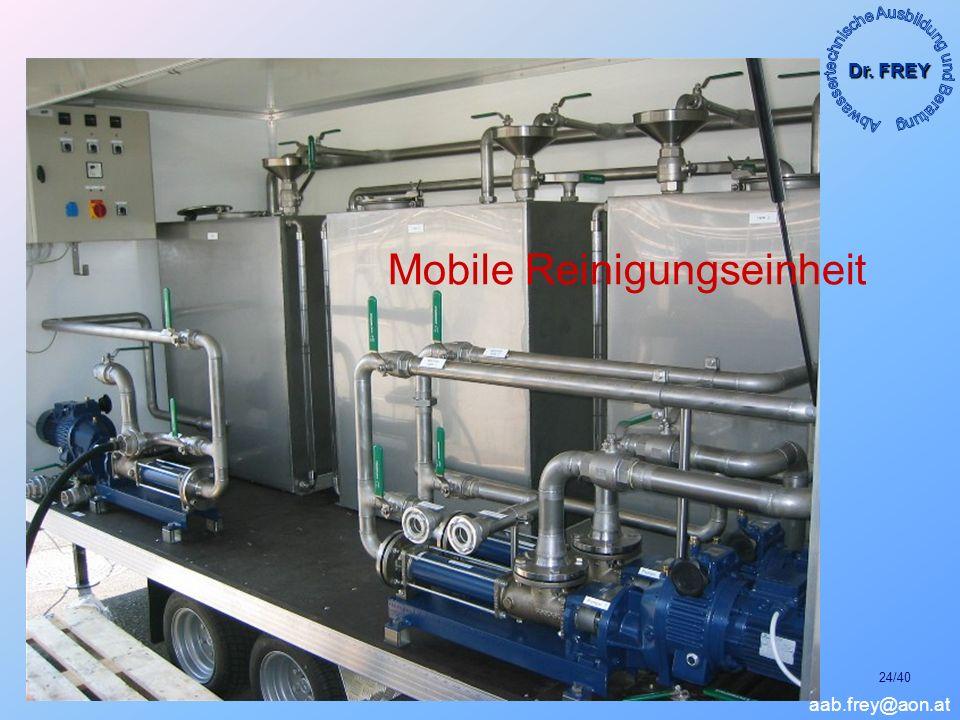 Mobile Reinigungseinheit