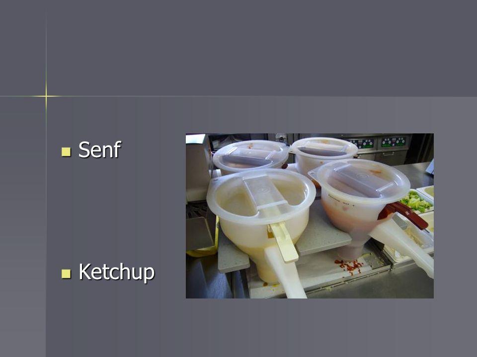 Senf Ketchup
