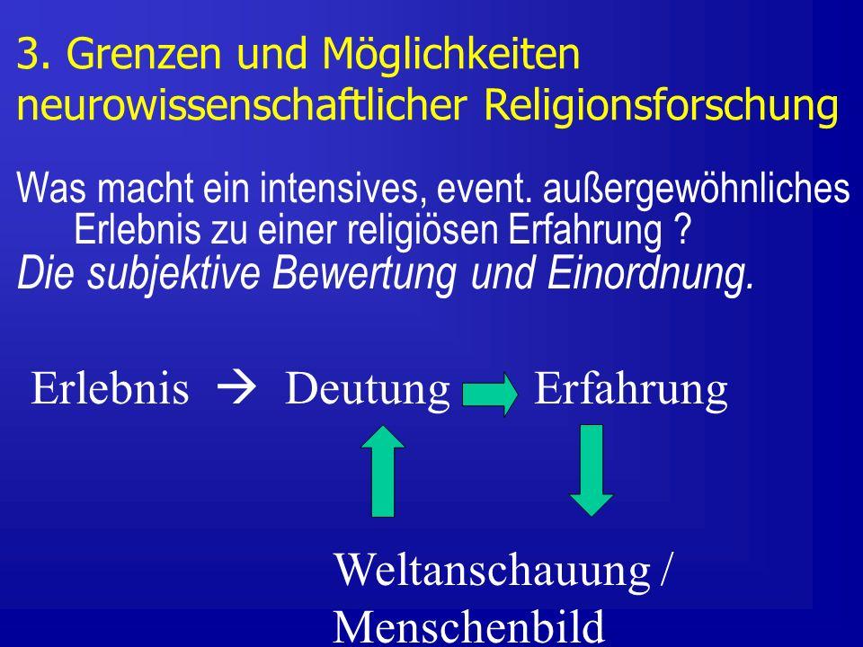 Die subjektive Bewertung und Einordnung.