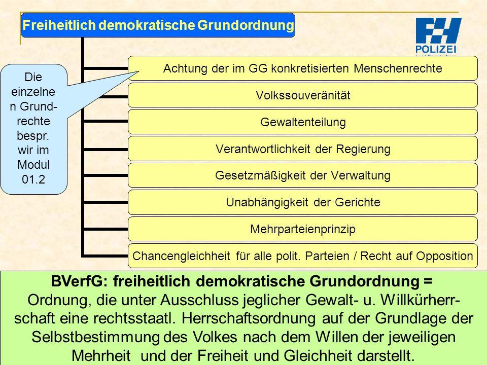 BVerfG: freiheitlich demokratische Grundordnung =