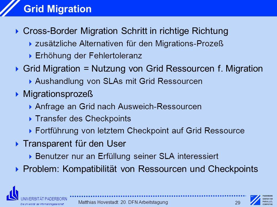 Grid Migration Cross-Border Migration Schritt in richtige Richtung