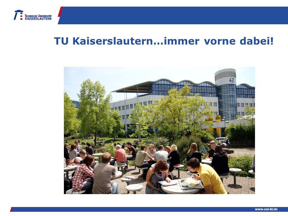 TU Kaiserslautern…immer vorne dabei!