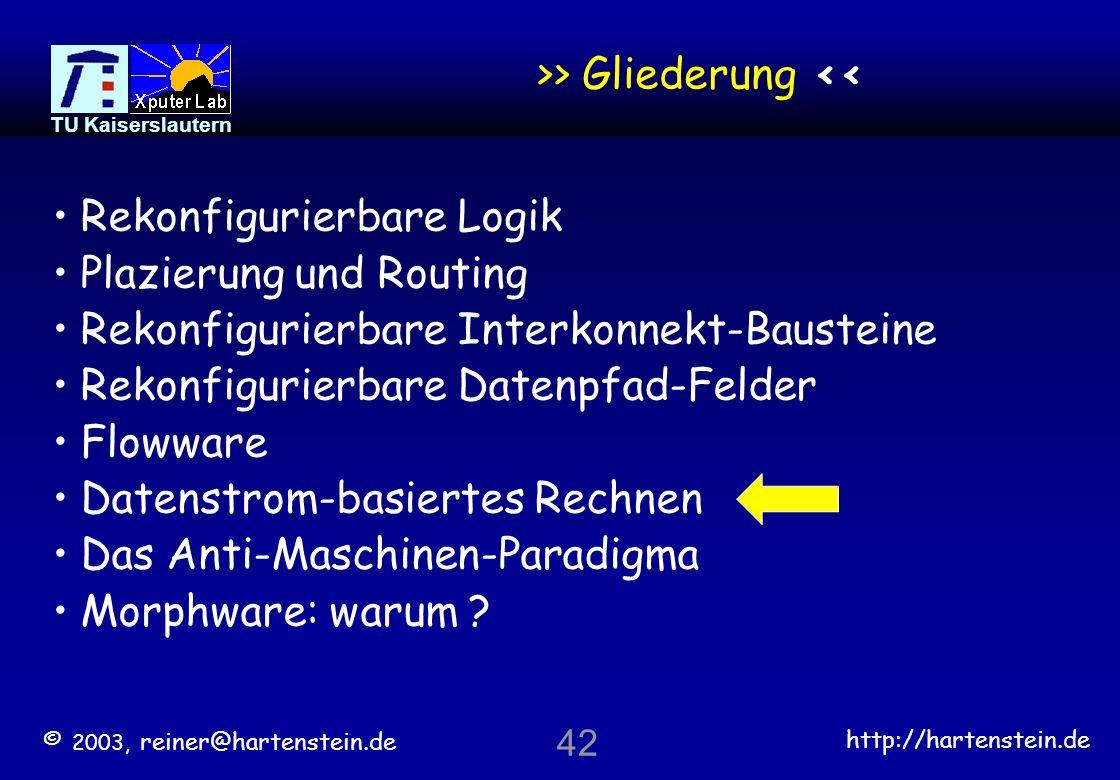 >> Gliederung <<