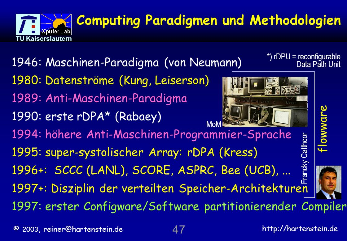 Computing Paradigmen und Methodologien