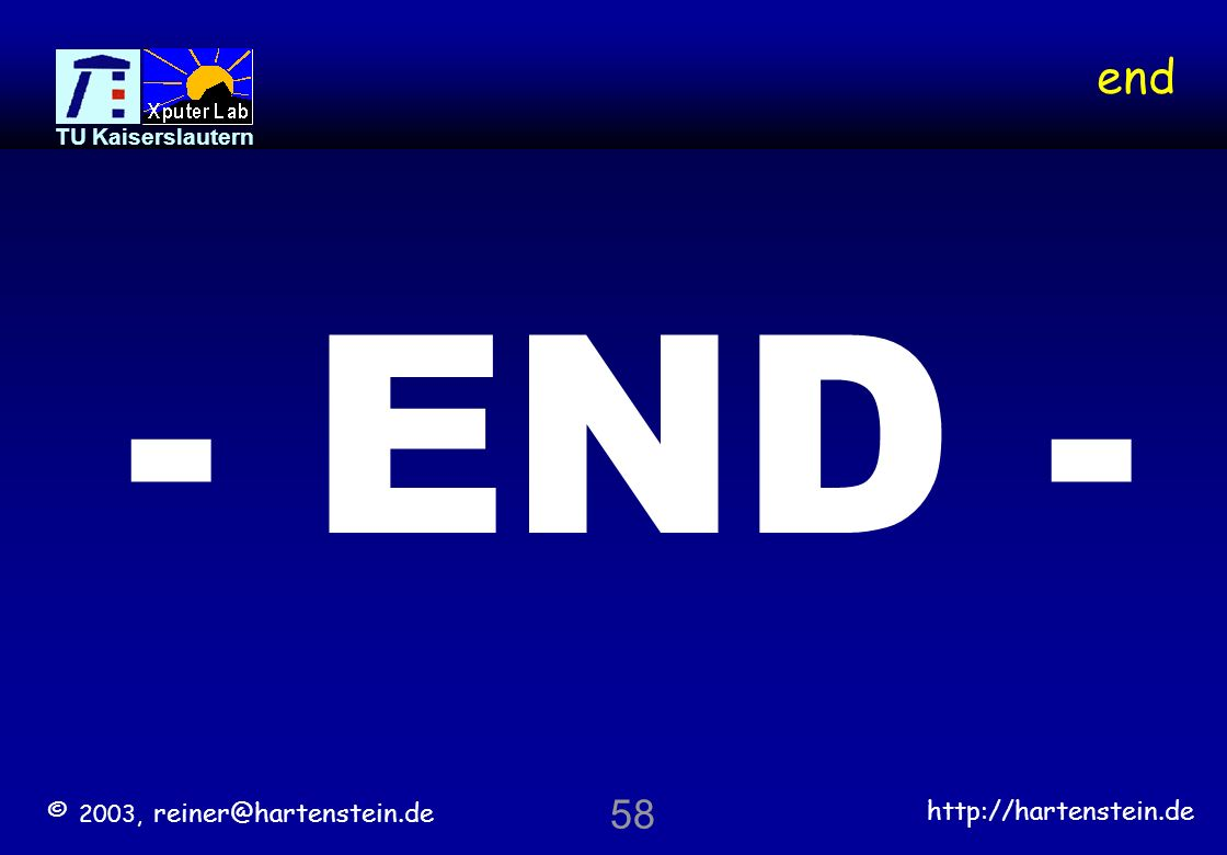end - END - 58