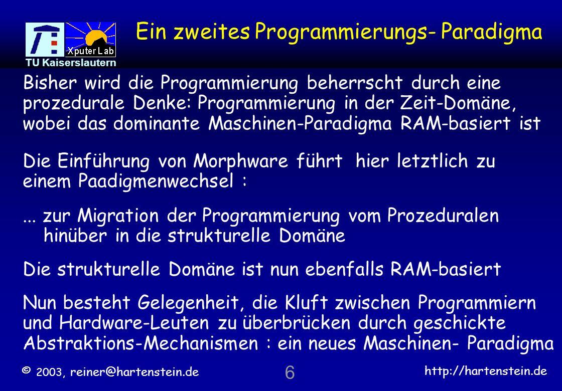 Ein zweites Programmierungs- Paradigma