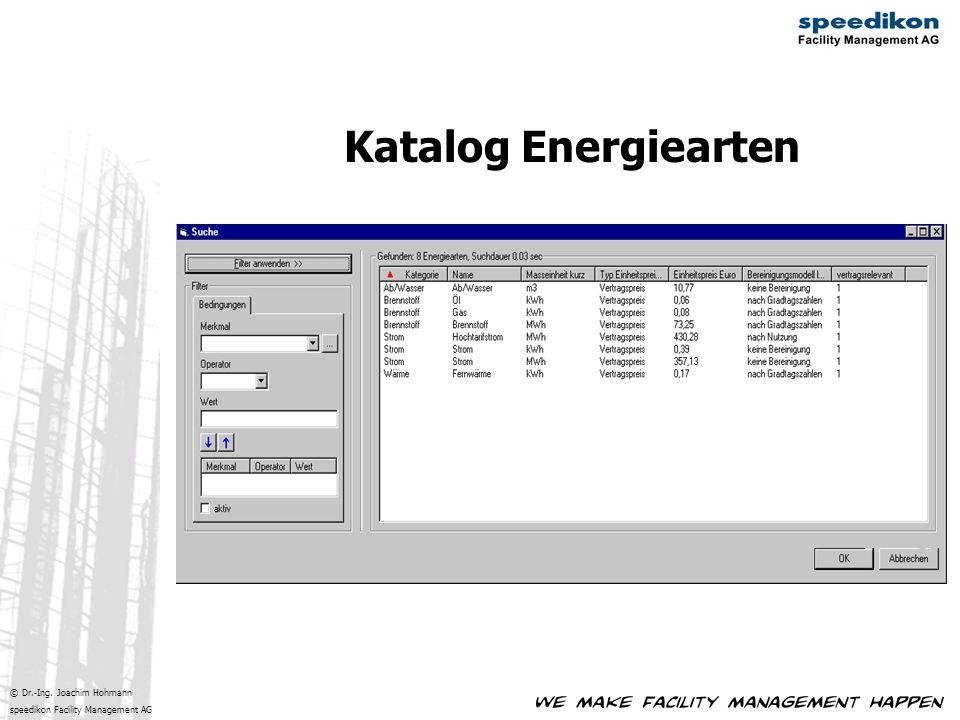 Katalog Energiearten