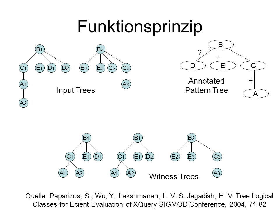 Annotated Pattern Tree