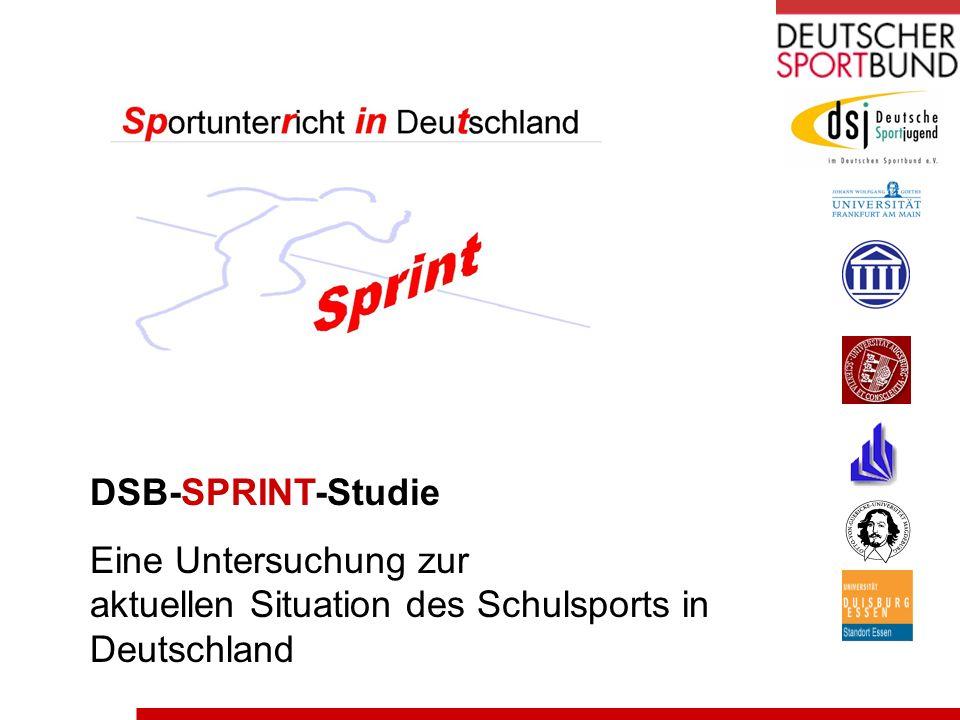 DSB-SPRINT-Studie Eine Untersuchung zur aktuellen Situation des Schulsports in Deutschland
