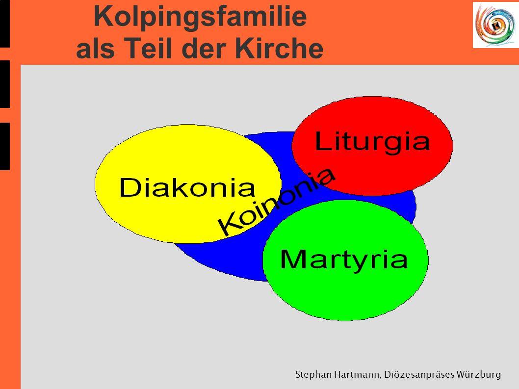 Kolpingsfamilie als Teil der Kirche