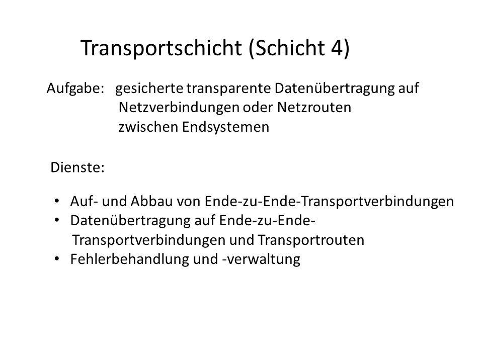Transportschicht (Schicht 4)