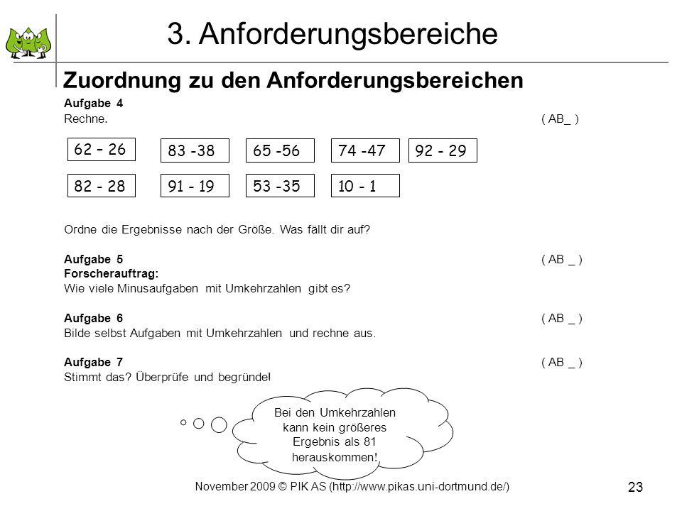 3. Anforderungsbereiche