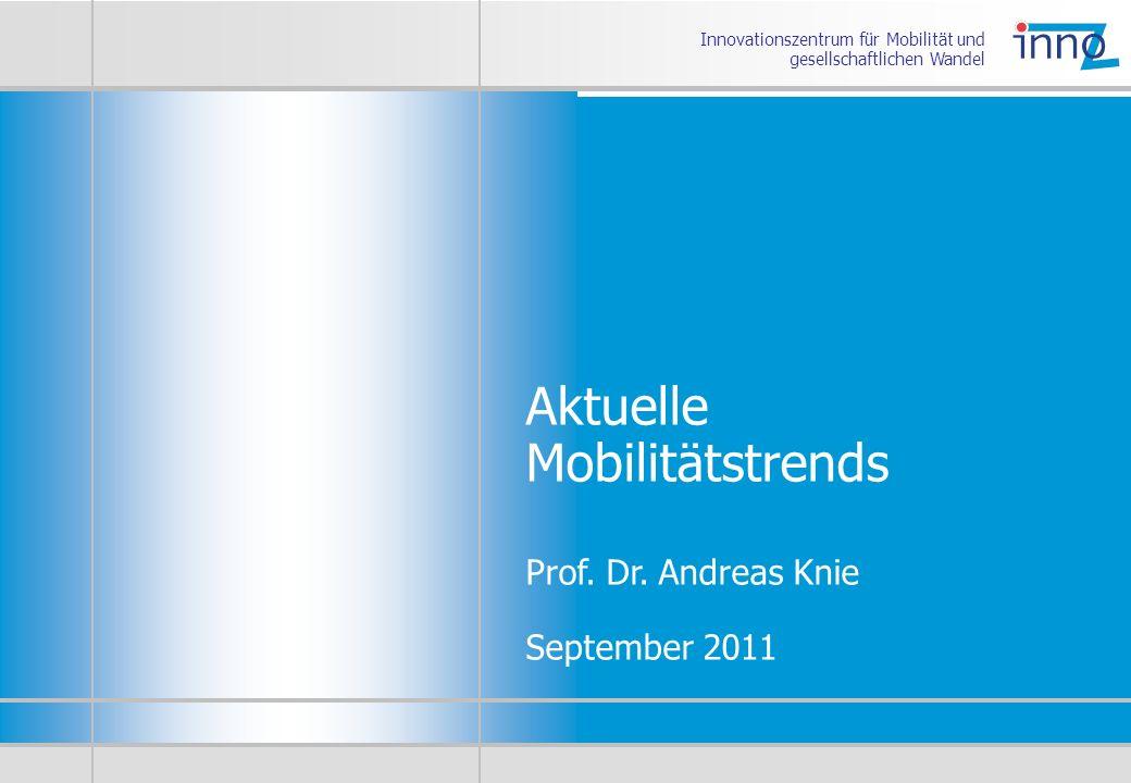 Aktuelle Mobilitätstrends