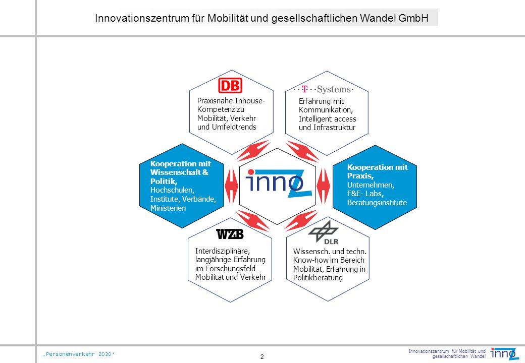 Innovationszentrum für Mobilität und gesellschaftlichen Wandel GmbH
