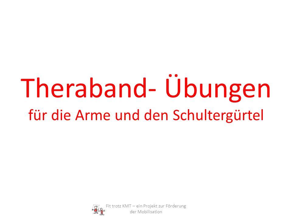 Theraband- Übungen für die Arme und den Schultergürtel