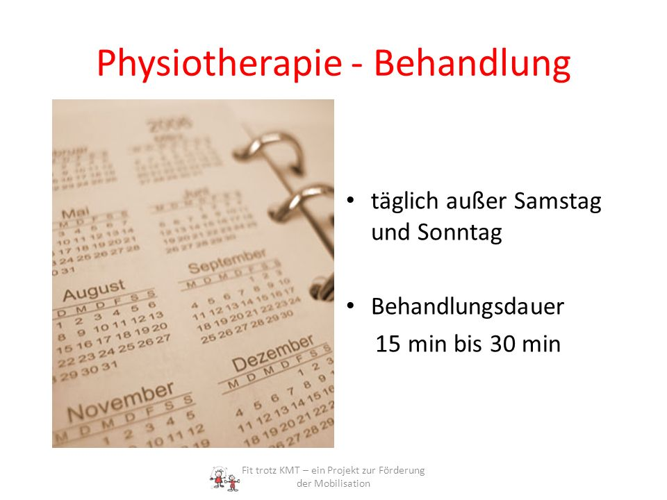 Physiotherapie - Behandlung