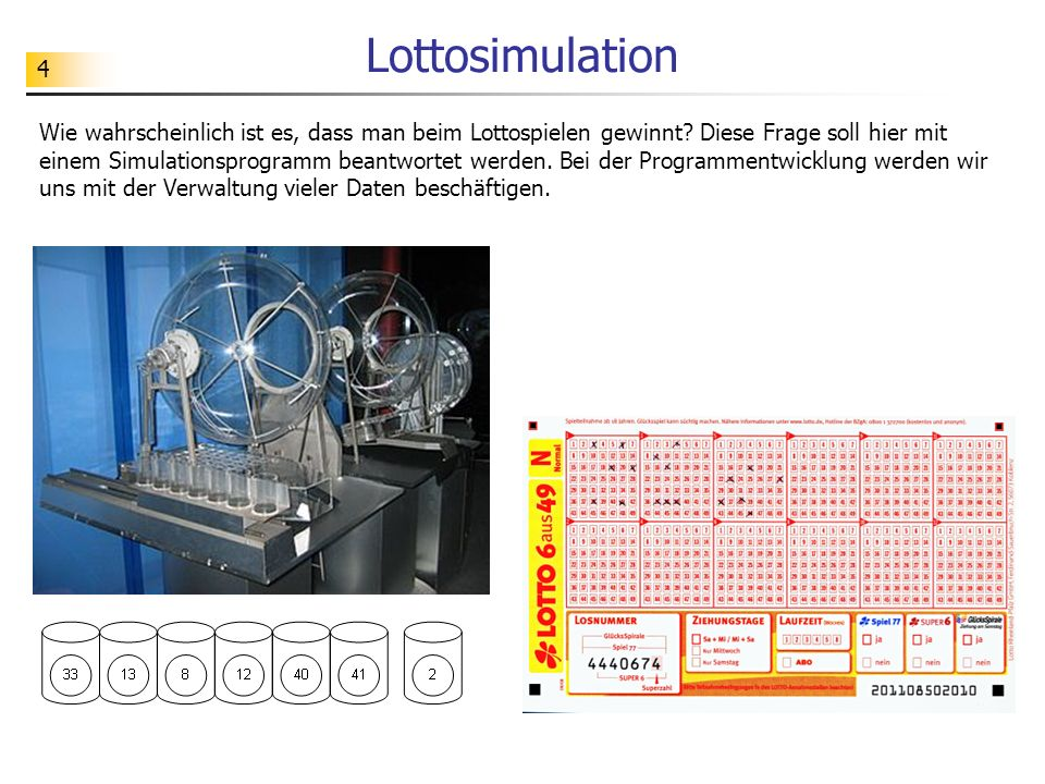 Lottosimulation