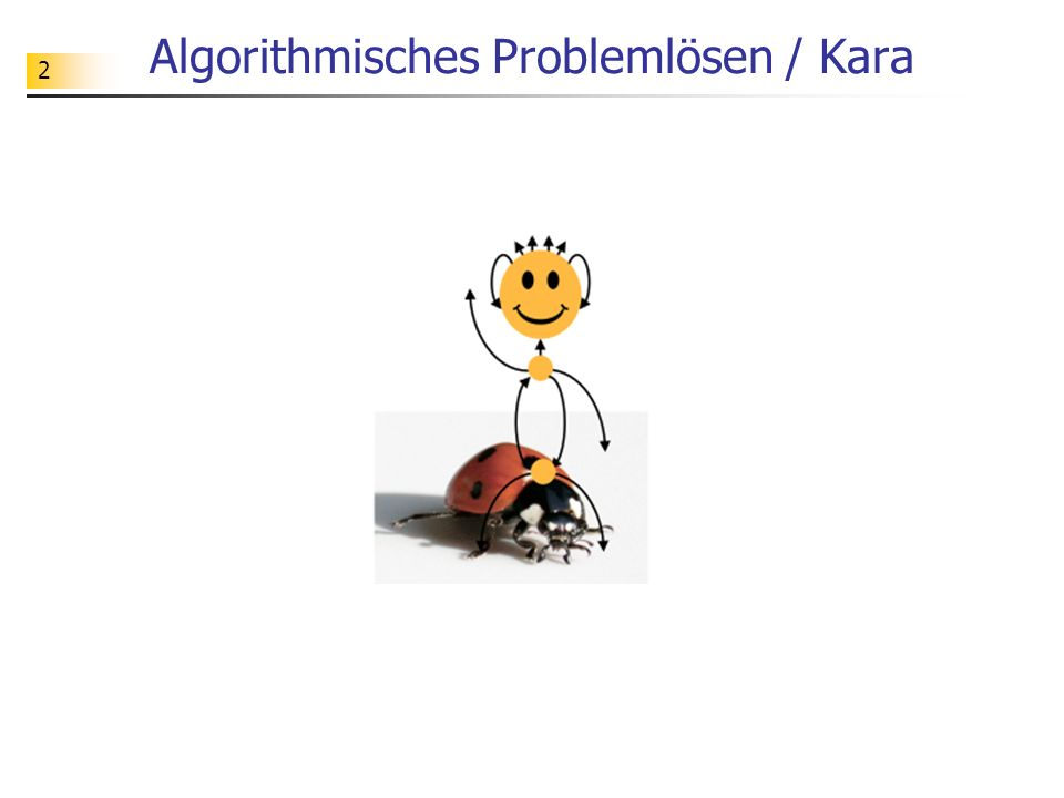 Algorithmisches Problemlösen / Kara
